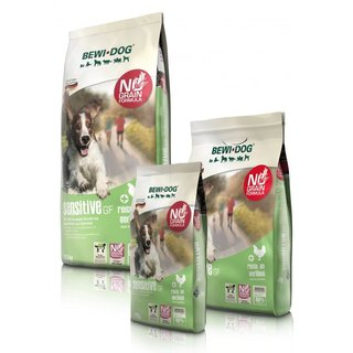 BEWI DOG® sensitive GF 0,8 kg, 3 kg, 12,5kg